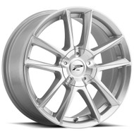 Platinum ® Winter Gemini 436S Wheels Rims 17x7.5 4x100 & 4x108 Silver w/ All Season Coating 40mm | 436-7701S+40