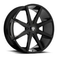 DUB ® Push Wheels Rims 20x8.5 6x115 & 6x120 Black 42mm | S1102085D1+42