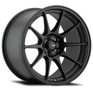 Konig ® Dekagram Wheels Rims 15x8 4x100 Black 25mm | 57B-DK85100255
