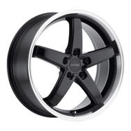 Petrol ® P1B Wheels Rims 19x8 5x108 Gloss Black Mach Lip 40mm | 1980P1B405108B72