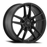 Konig ® Myth Wheels Rims 16x7.5 5x108 Gloss Black 43mm | 55B-MY76508435
