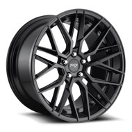 Niche ® Gamma Wheels Rims 19x8.5 5x108 Matte Black 40mm | M190198531+40