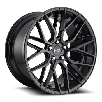 Niche ® Gamma Wheels Rims 19x9.5 5x112 Matte Black 48mm | M190199543+48