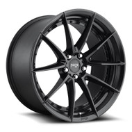 Niche ® Sector Wheels Rims 19x8.5 5x112 Matte Black 42mm | M196198543+42