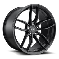 Niche ® Vosso Wheels Rims 17x8 5x112 Matte Black 40mm | M203178043+40