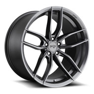 Niche ® Vosso Wheels Rims 19x9.5 5x112 Anthracite Gray 38mm | M204199544+38