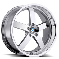 Beyern ® Rapp Wheels Rims 19x8.5 5x120 Chrome 15mm | 1985BYR155120C72