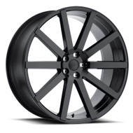 Redbourne ® Kensington Wheels Rims 22x10 5x120 Gloss Black 35mm | 2210KEN355120B72