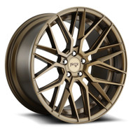 Niche ® Gamma Wheels Rims 19x8.5 5x120 Bronze 35mm | M191198521+35
