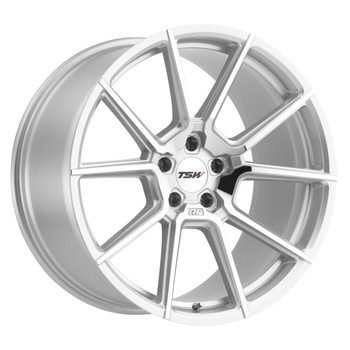 TSW ® Chrono Wheels Rims 18x8.5 5X4.5 (5X114.3) Silver 30mm | 1885CRN305114S76