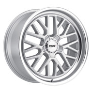 TSW ® Hockenheim S Wheels Rims 18x8.5 5X4.5 (5X114.3) Silver 40mm | 1885HCK405114S76