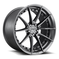 Niche ® Sector Wheels Rims 19x8.5 5X4.5 (5X114.3) Anthracite Gray 35mm | M197198565+35