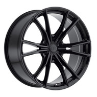 Black Rhino ® Zion 6 Wheels Rims 20x9 6x132 Gloss Black 30mm | 2090ZON306132B74