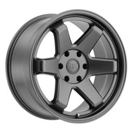 Black Rhino ® Roku Wheels Rims 20x9.5 6x4.5 (6x114.3) Gunblack 12mm | 2095RKU126114M76