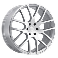 Black Rhino ® Kunene Wheels Rims 20x9 6x5.5 (6x139.7) Silver 12mm | 2090KUN006140S12