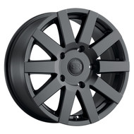 Black Rhino® Journey Wheels Rims 18x8 6x5.5 (6x139.7) Black Matte 35 | 1880JRN356140M12