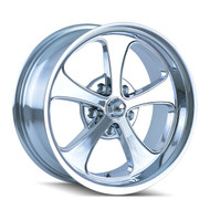 Ridler 645 Wheels 18x8 5x5.5 Chrome 0mm | 645-8885C