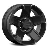Mamba M13 Wheels 16x8 6x4.50 +13 Black | 585B-M13686813B