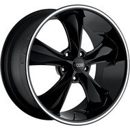 Foose Legend Wheels 17x8 5x4.75 (5x120.65) Black 1mm | F10417806145