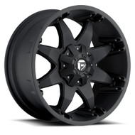 "FUEL OCTANE D509 WHEELS 18X9 5X5.5"" ( 5X139.7 ) & 5X150 +20MM BLACK 