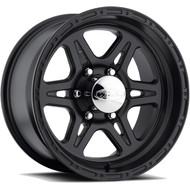 Raceline ® Renegade 8 Wheel Black 16X8 8X170 +00mm | 892-68081