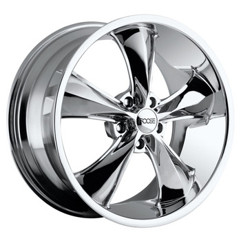 Foose Legend Wheels 20x10 5x120 Chrome 40mm | F105200021+40