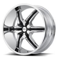Helo HE891 Chrome Wheels Rims 20x8.5 Blank 35 | HE89128500235