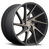 Niche Invert M163 Wheels 20x10.5 5x4.5 Black Machine 30mm | M163200565+30