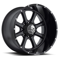 Hostile Exile Asphalt Wheels 20x10 8x180 Satin Black -19mm | H105-2010818047BB