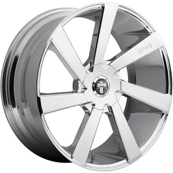 DUB Directa Wheels 20x8.5 6x135 & 6x5.5 (6x139.7) Chrome 30mm | S132208597+30