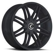 Kraze Cray 141 18x8 Wheels Black 5x110 5x115 40 | KR141-18816B