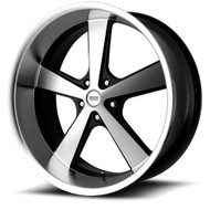 American Racing Nova Wheels VN701 22X11 5X127 Black 18 | VN70122150318