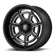XD Monster Wheels XD778 18X9 Black Wheel Blank 35 | XD77889000735