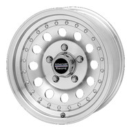 "American Racing Outlaw II Wheels 16X8 8X6.5"" ( 8X165.1 ) Machined +0 