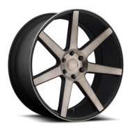DUB Future Wheels 20x9.5 6x5.5 (6x139.7) Black Machine 30mm | S127209577+30