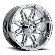 "FUEL HOSTAGE D530 WHEELS 17X9 8X6.5"" ( 8X165.1 ) -12MM CHROME 