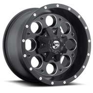 "FUEL REVOLVER D525 WHEELS 16X8 5X4.5"" ( 5X114.3 ) & 5X127 +01MM BLACK 