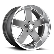 US Mags Hustler U118 22x11 Wheels Gun Metal 5x127 18 | U11822117367