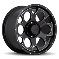 Mamba M17 589B Black Milled Wheels Rims 16x8 6x4.5   13 | 589B-M17686813B