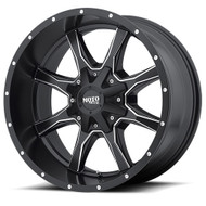 Moto Metal MO970 Wheels 16x8 6x120 & 6x5.5 Black 0mm | MO97068078900