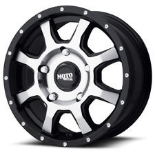 Moto Metal MO970 Wheels 17x8 5x130 Black 50mm | MO97078036350
