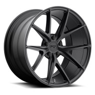 Niche Misano M117 Wheels 22x10.5 5x4.5 (5x114.3) Black 40mm | M117220565+40