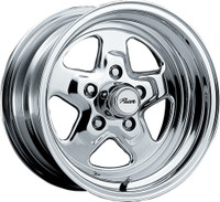 Pacer 521P Dragstar Wheel 15x7 5x127 (5x5) Polished 0mm Offset