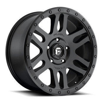 Fuel Recoil Wheels 17x8.5 6x120 Black 7mm | D58417859450