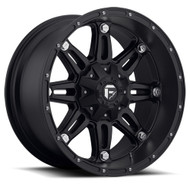 "FUEL HOSTAGE D531 WHEELS 17X9 6X4.5"" & 6X5.5"" -12MM BLACK 