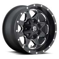 "FUEL BOOST D534 WHEELS 16X8 5X4.5"" ( 5X114.3 ) & 5X127 +01MM BLACK 