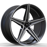 Advanti Racing ® Cammino 87Mg Wheel 19X8.5 Matte Grey Machined 5X4.5 5X114.3 35mm | 87MG-CO9A51435G