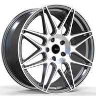 Advanti Racing ® Classe 88Mg Wheel 19X9.5 Matte Grey Machined 5X112 45mm | 88MG-CL9N51245G