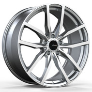 Advanti Racing ® Rasato 90Mg Wheel 19X8.5 Matte Grey Machined 5X112 35mm | 90MG-RA9A51235G