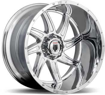 American Truxx ® Vortex At162 Wheel 20X10 Chrome 5X5.5 (5X139.7) -24mm | AT162-21027C
